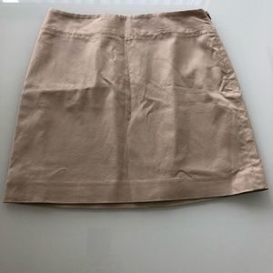 Banana Republic tan skirt size 2